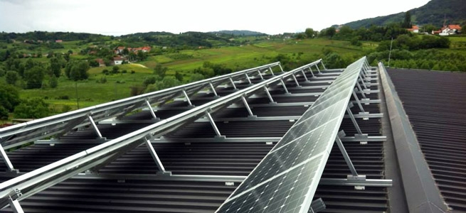 Structures for photovoltaic solar power plants